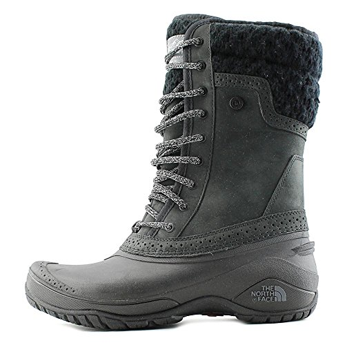 Black Botte Toile Face North D'hiver The Shellista Tall Ii grey Femmes UxTBn0qwz
