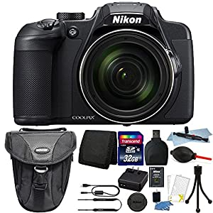 Nikon COOLPIX B700 20.2MP Point and Shoot Digital Camera + Deluxe Accessory Kit