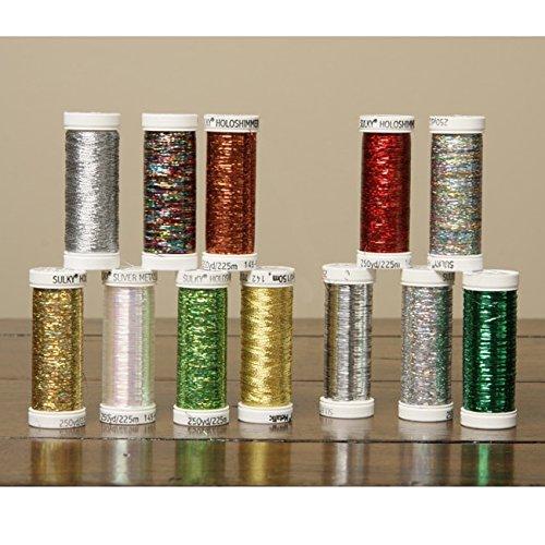 (Sulky Brilliant Metallic Thread Colors (Set of 12))