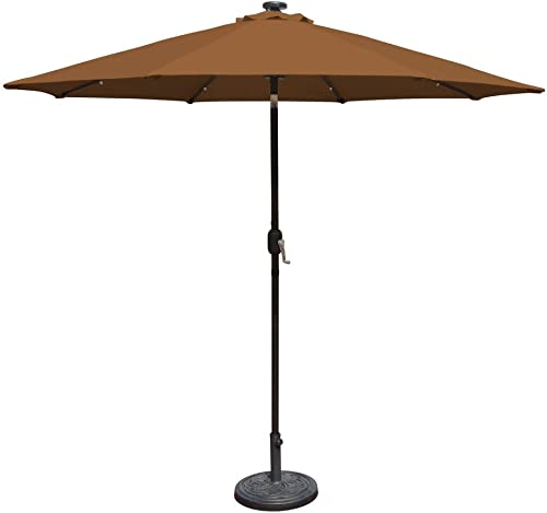 Island Umbrella N5424ST Mirage Fiesta Octagonal Market Umbrella