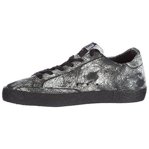 Goose Sneakers Chaussures en Cuir Femme Golden Noir Baskets Superstar fdAwBqq