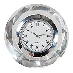 Dream Products Crystal Diamond-Shaped Clock