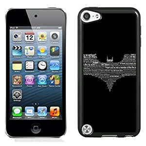 New Personalized Custom Designed For iPod Touch 5th Phone Case For Creative Batman Logo Phone Case Cover