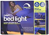 mylight.me Bed Light 2x-2 Sensors, 2-5-Feet Led Strips, Dimmable