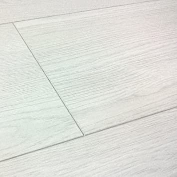 White Laminate Flooring 12mm v groove french white oak laminate flooring Chene Oristano Oak White Laminate Flooring 8mm V Groove 213m2 Wood Floor Commercial Grade