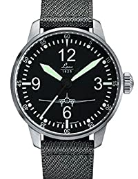 Laco DC-3 Homage 21-Jewel Automatic (Limited Edition) Pilot Watch with Sapphire Crystal 862001