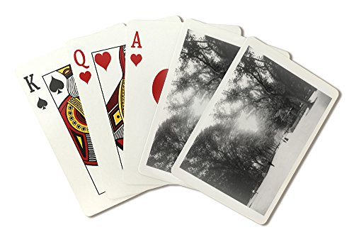 The Mall in Central Park New York City, NY Photo (Playing Card Deck - 52 Card Poker Size with - Mall City Park