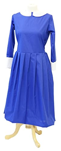 1940s Children's Clothing: Girls, Boys, Baby, Toddler 1940s-Victorian-Historical-Wartime-Uniform BLUE NANNY/GOVERNESS - All Ages $55.00 AT vintagedancer.com