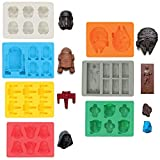Sunerly Silicone Ice Tray Molds in Star Wars