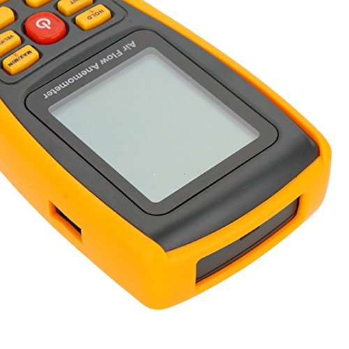 GM8902 Digital Anemometer Wind Speed/Air Flow/Air Temperature Meter Tester Measuring 0~45m/s with USB Interface & Data Record