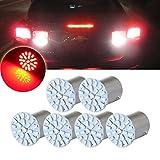 volvo led lights for motorhome - CCIYU 6pcs Red 22SMD LED Exterior Light Bulbs for Corner , Stop,Parking light