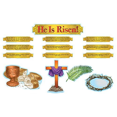 Jesus Bulletin Board Set - 4