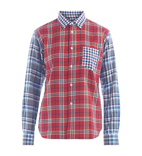 Camicia Comme Des Garçons Shirt Boys a quadri multicolor Multicolor