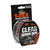 T-REX Ferociously Strong Clear Repair Tape, 1.88 Inches x 9 Yards, 241535