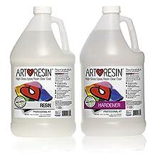 Clear Non-toxic ArtResin® Epoxy Resin Professional Kit - 7.57 L