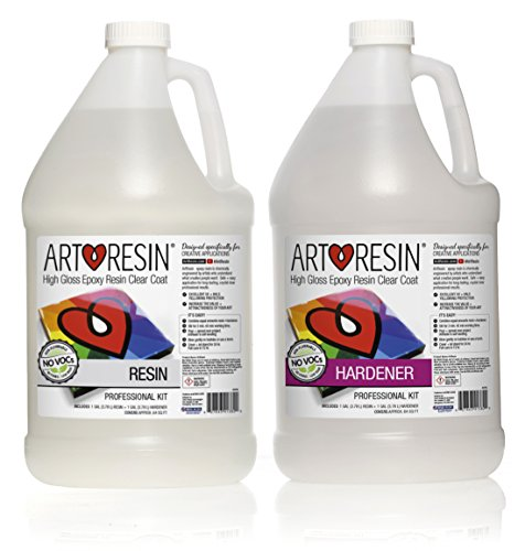 Clear Non-toxic ArtResin Epoxy Resin - 2 gal (7.57 L) by ArtResin