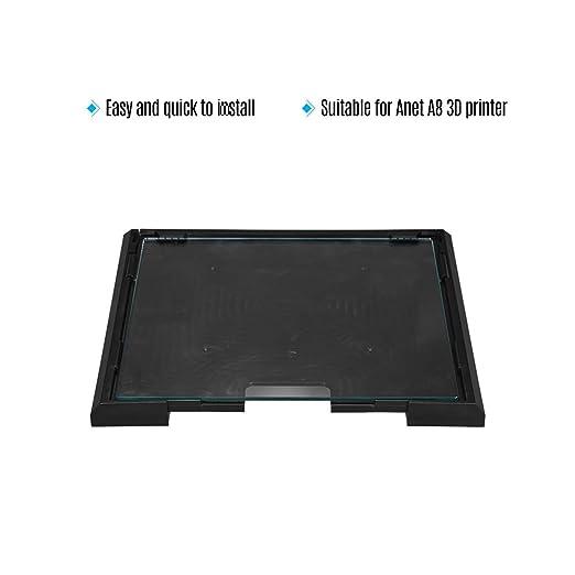 Amazon.com: 3D Printer Glass Plate 2202203mm Build Surface ...
