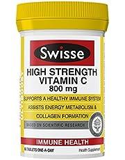 Swisse Ultiboost High Strength Vitamin C Supplement, 60ct