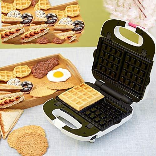 XCXDX Multi Fonction 3 en 1 Sandwich Gaufrier Beignet Panini Maker Collation Dessert Machine