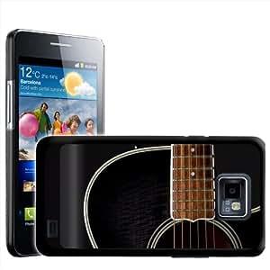Fancy A Snuggle - Carcasa para Samsung Galaxy S2 i9100, diseño de guitarra negra