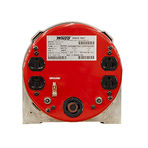 Winco TB4000C Two Bearing Generators Generators
