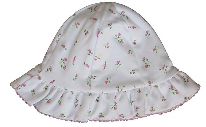 Amazon.com  Kissy Kissy Baby Girls Garden Roses Print Sunhat  Infant And  Toddler Hats  Clothing bf7b00e13e9
