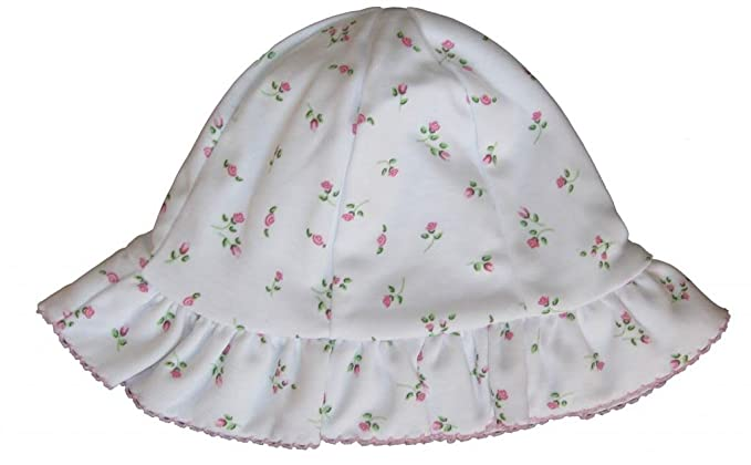 Amazon.com  Kissy Kissy Baby Girls Garden Roses Print Sunhat  Infant ... 40076cdecc8e