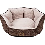 Cheap Precision Pet Clamshell Bed, Chocolate