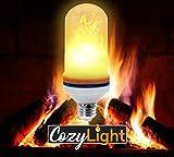Flame Bulb E26 Standard Base Flickering Flaming Flame Lightbulb 105pcs Simulated Decorative Light Atmosphere Lighting Vintage Flaming Light Bulb for Bar/Pub, House Décor,Restaurant