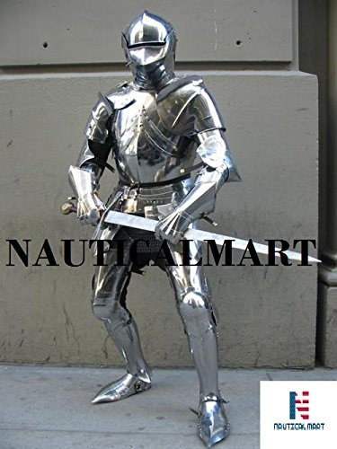 medieval knight suit of armor halloween full body armour costume