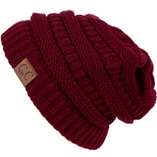 Cap- outdoor skiing (US Seller)Burgundy_Winter Hat Cap Fashion from Easy-W