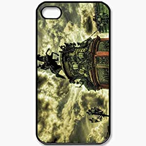 Protective Case Back Cover For iPhone 4 4S Case St Isaac 39 S Square St Petersburg The Bronze Horseman Black