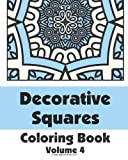 Decorative Squares Coloring Book (Volume 4), Various, 1496129954