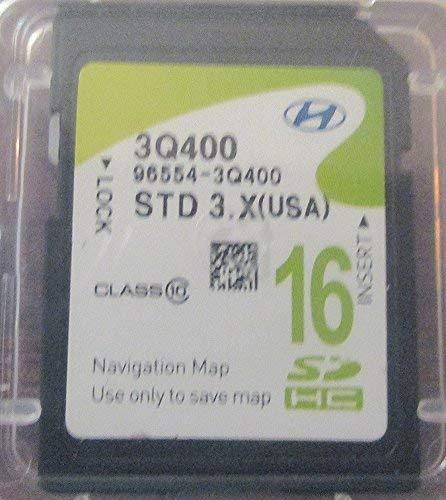 3Q400 2013 2014 Hyundai Sonata Navigation MAP Sd Card ,GPS UPDATE , U.S.A OEM PART # 96554-3q400