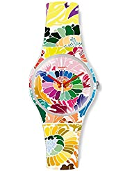 Swatch Womens Gent SUOW126 Multicolor Silicone Swiss Quartz Watch
