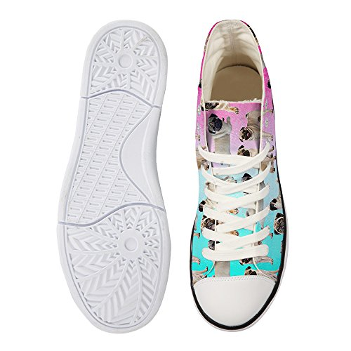 Nopersonality Nopersonality Pug Print1 Donna Print1 Sneaker Donna Nopersonality Sneaker Pug SqXxS4Frfw