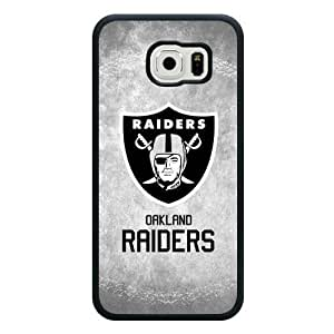 Caitin Fashion NFL Oakland Raiders Cell Phone Cases Cover for Samsung Galaxy S6 (Laster Technology)