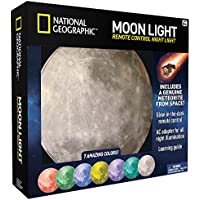 NATIONAL GEOGRAPHIC Moon Night Light for Children with AC...