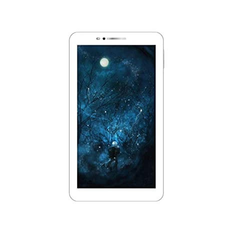 IKALL N8 Dual Sim 3G Calling Tablet with 7 inch Display (Gold, 1GB + 8GB) Tablets at amazon