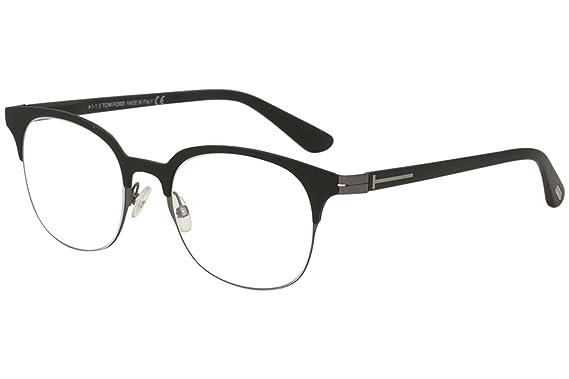 63c2fa8c84 Tom Ford FT5347 Eyeglasses - 001 Shiny Black - 51mm at Amazon Men s ...