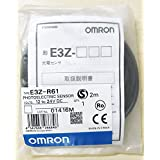 OMRON E3Z-R61 2M Compact Photoelectric Sensor (With Built-in Amplifier)(Retro-Reflective type with M.S.R. Function)(Pre-Wired)(Sensing Distance 4 m)(NPN) NN