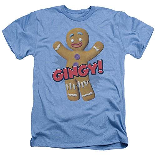 2Bhip Shrek Animated Children's Comedy Movie Gingy Gingerbread Man Adult HA T-Shirt