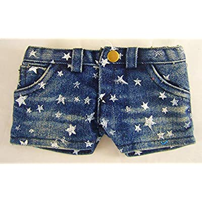 Doll Clothes Sew Beautiful Trendy Denim Star Shorts for 18