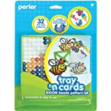 Perler 80-70729 Fused Bead Pattern Kit Biggie Bead Tray and Cards