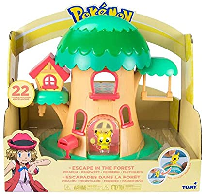 Pokemon Petite Pals Escape in the Forest Playset