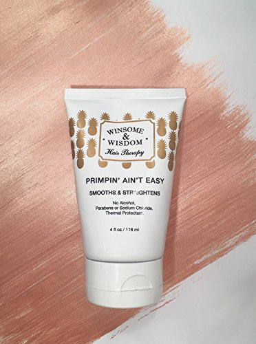 Primpin Aint Easy Straightening Balm For Hair Oz Hair Import It All