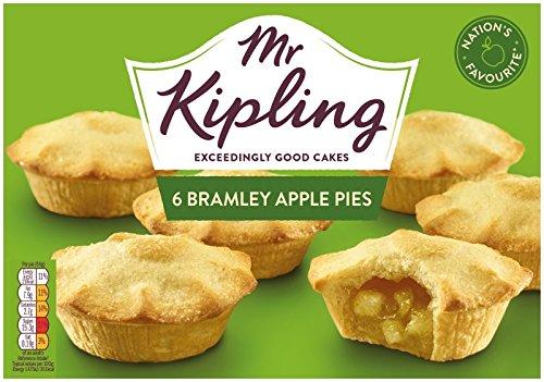 (Mr Kipling Cakes - Bramley Apple Pies - 6pk)