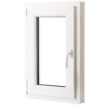 vidaXL Fenêtre oscillo-battant en PVC Poignée sur la droite 500 x ...