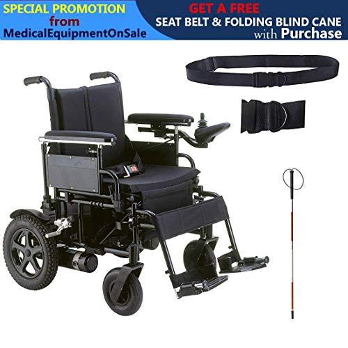 Drive Cirrus Plus EC Folding Power Wheelchair, 22