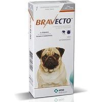 Antipulga Carrapato Bravecto 250 Mg Cães De 4,5 Kg A 10 Kg